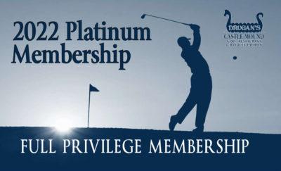 Drugan's Castle Mound 2022 Platinum Membership Card
